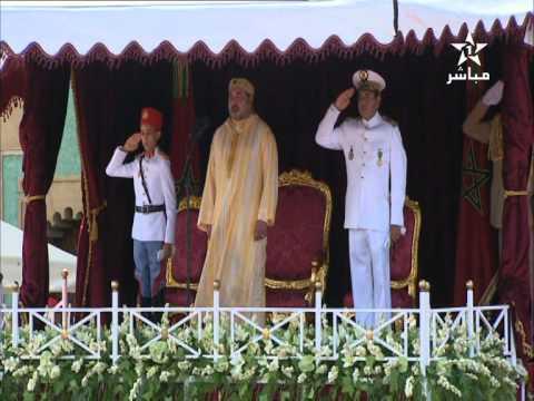 بالفيديو: أول ظهور للأمير مولاي الحسن بالزي العسكري