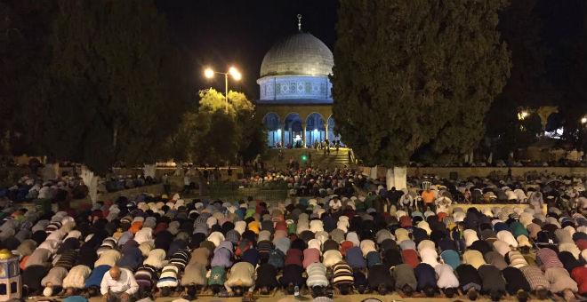 انتشار الألاف من عناصر الشرطة الإسرائيلية غداة ليلة القدر