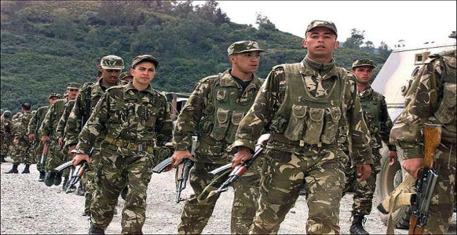 مقتل 11 جنديا جزائريا على يد مسلحين بعين الدفلى