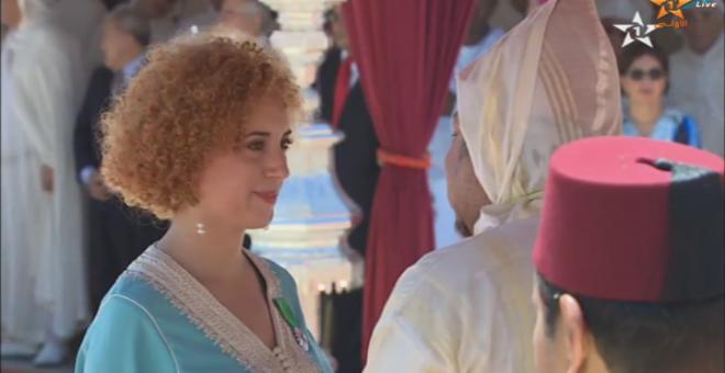 بالفيديو...أسماء التى وشحها الملك أول مغربية تعمل في ناسا