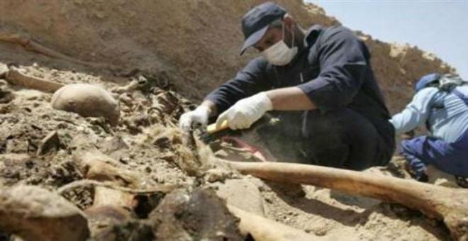 اكتشاف مقبرة جماعية بالمدخل الغربي لمدينة درنة