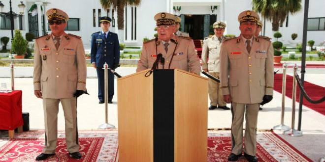 أركان الجيش الجزائري