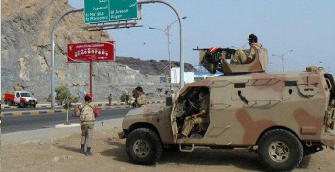 القوات اليمنية تسيطر على أبين وتدحر الحوثيين