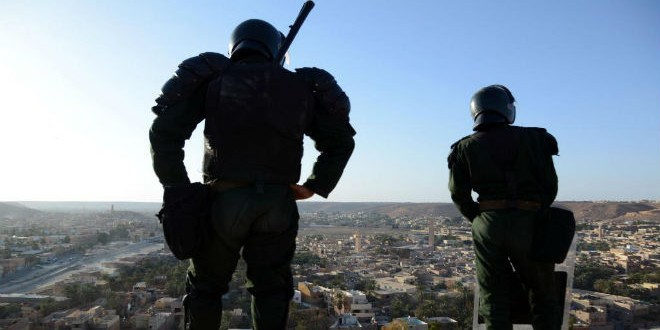 Ghardia forces securité