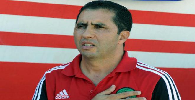 بنعبيشة يعقد ندوة صحفية حول مباراة المغرب وتونس