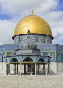 Israel-2013-Jerusalem-Temple_Mount-Dome_of_the_Rock_&_Chain_02