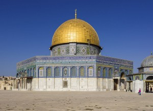 Israel-2013(2)-Jerusalem-Temple_Mount-Dome_of_the_Rock_(SE_exposure)