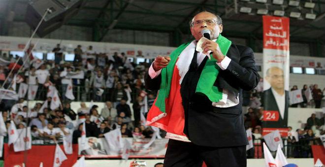 سياسي تونسي يصف مشاركة المرزوقي في أسطول الحرية
