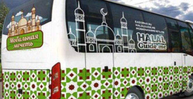 مسجد متنقل لتيسير أداء الصلاة