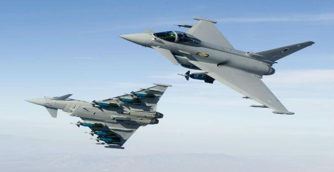 بريطانيا تعلن استعدادها لضرب مواقع