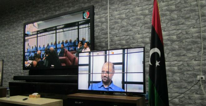 منظمات حقوقية تصف محاكمة سيف الإسلام بالغير العادلة