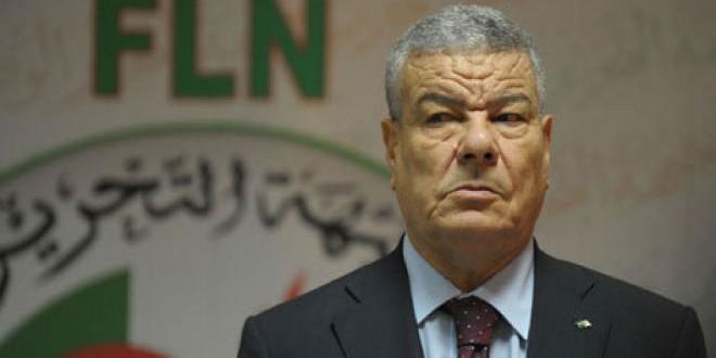 """عمار سعداني الأمين العام لحزب"""" جبهة التحرير الوطني"""" في الجزائر"""