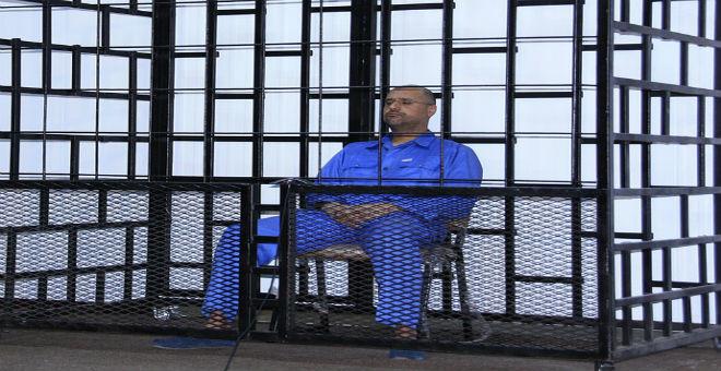 محكمة الاستئناف بطرابلس تحكم على سيف الإسلام والسنوسي بالإعدام