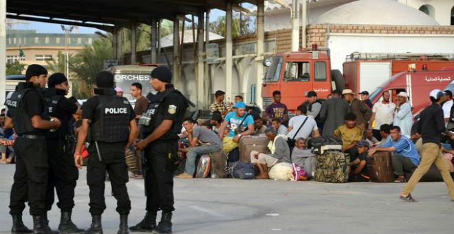 حكومة طرابلس تحتج رسميا على تونس بخصوص الجدار الأمني