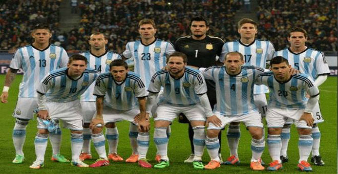 الأرجنتين في صدارة تصنيف الفيفا للمنتخبات