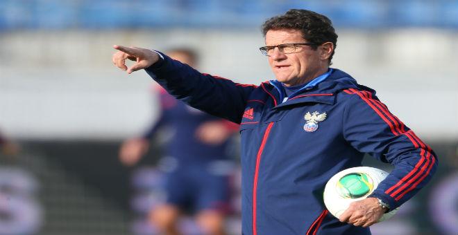 إقالة كابيلو من تدريب المنتخب الروسي