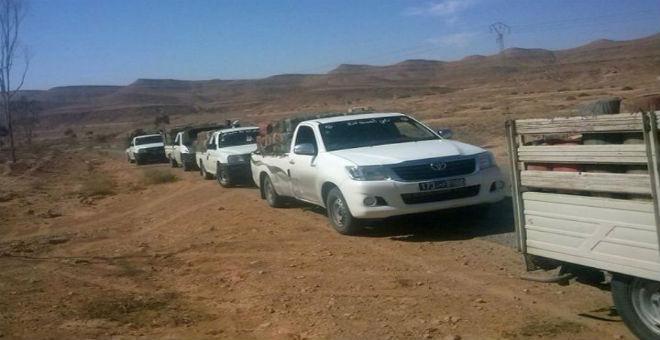توقيف 16 تونسيا وليبيا على الحدود بين البلدين بتهمة التهريب