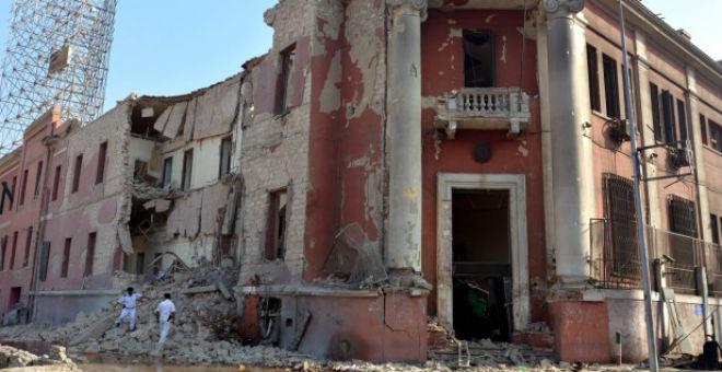 انفجار ضخم يهز القنصلية الإيطالية في القاهرة