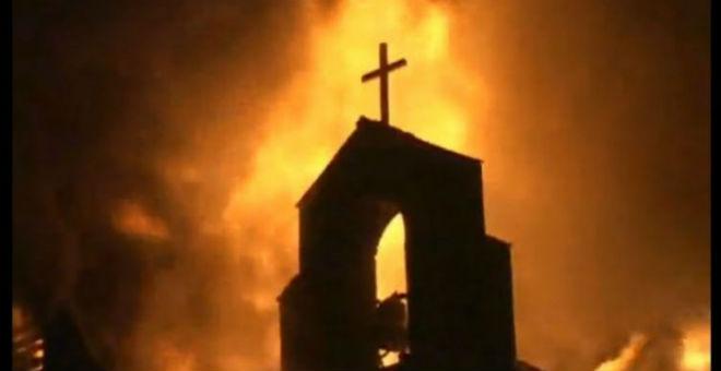 مسلمو أمريكا يسعون لإعادة بناء الكنائس المحروقة