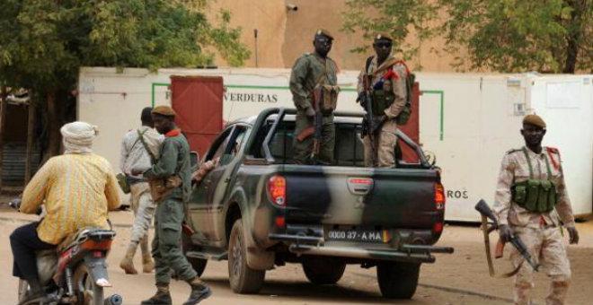 الجيش المالي يدمر معسكرا لمقاتلين جنوب البلاد