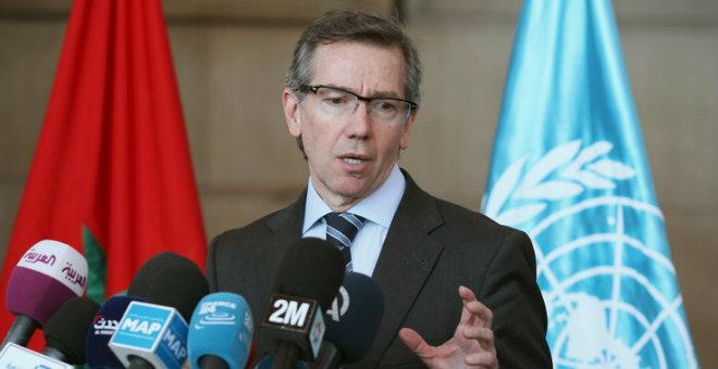 المبعوث الأممي يدعو ممثلي برلمان طرابلس إلى توقيع اتفاقية الصخيرات