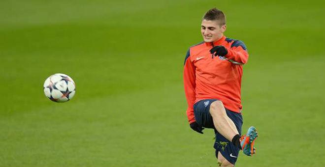وكيل فيراتي يؤكد التواصل مع برشلونة بشأن اللعب للفريق الكاطالوني