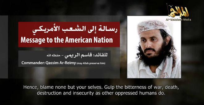 الزعيم الجديد للقاعدة في اليمن يدعو إلى شن هجمات على أمريكا