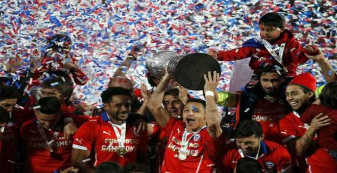 الشيلي تطيح بالأرجنتين من عرش كوبا أمريكا