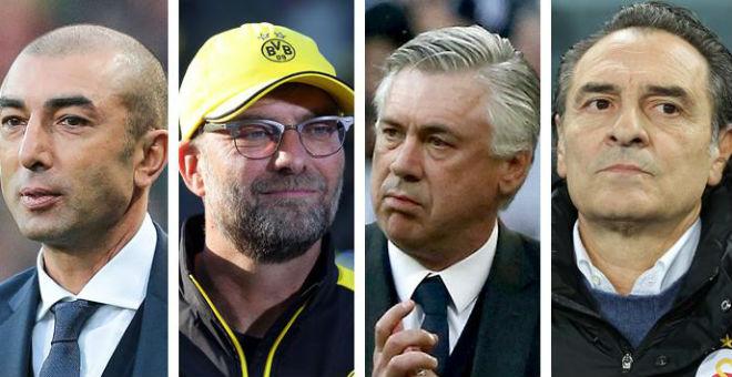 أبرز أربعة مدربين لكرة القدم عاطلين عن العمل