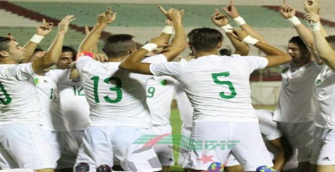 الأولمبي الجزائري يفوز على السنغال وديا
