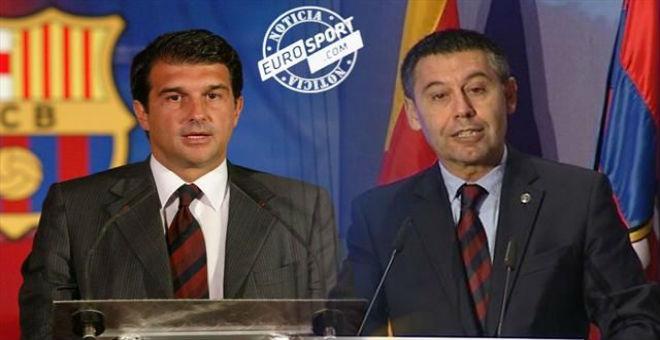 بارتوميو يسحق لابورتا في انتخابات برشلونة