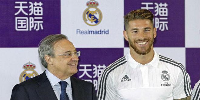 أخيرا راموس يجدد عقده مع ريال مدريد