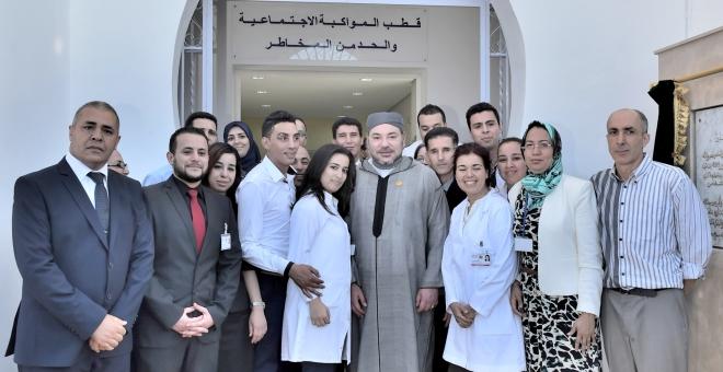 الملك محمد السادس يدشن مركزا جديدا لطب الإدمان في طنجة