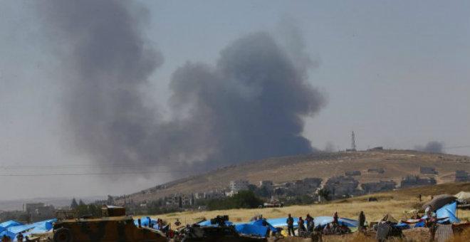 انفجار عنيف في بلدة سروج التركية الحدودية مع سوريا