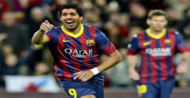 سواريز يطالب برشلونة بالمساواة مع نيمار