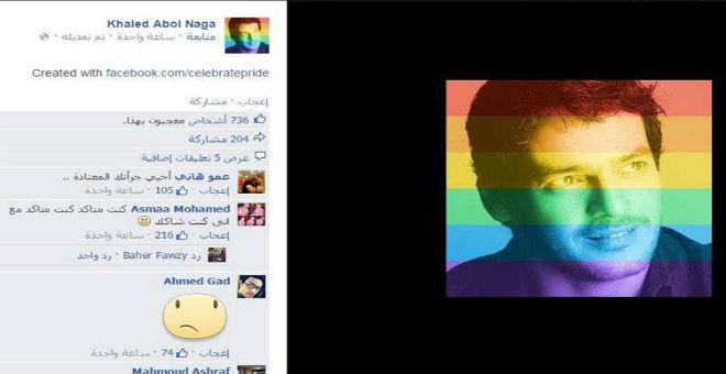 خالد ابو النجا يؤيد زواج المثليين عبر