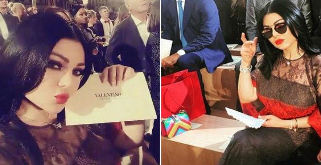 هيفاء وهبي سفيرة الموضة لدار أزياء