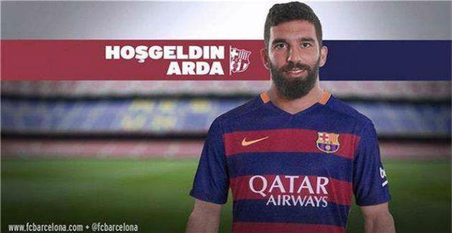 برشلونة يعلن تعاقده رسميا مع أردا توران