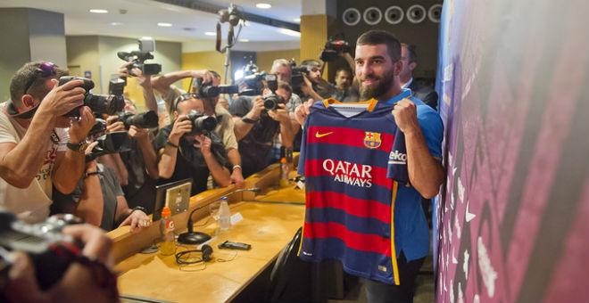 توران : أنا هنا لتقديم الاضافة لفريق برشلونة