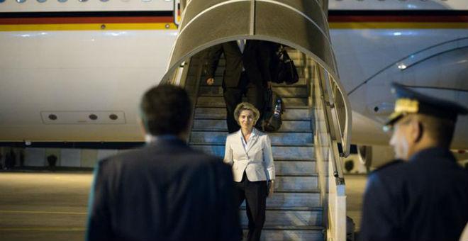 وزيرة الدفاع الألمانية في زيارة رسمية لتونس