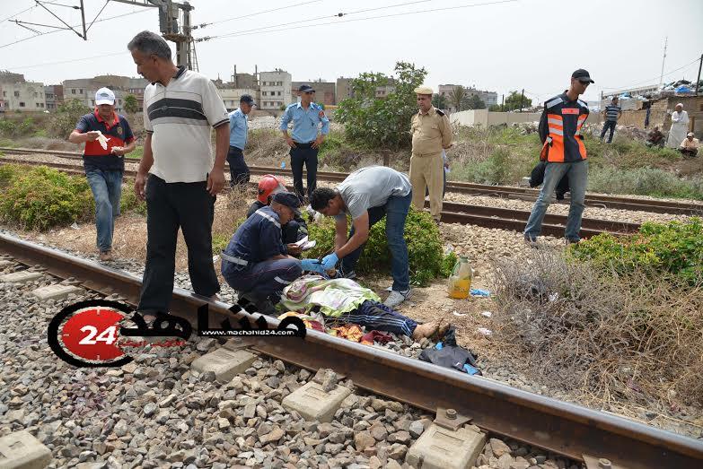 انتحار شاب رمى نفسه أمام القطار في الدار البيضاء