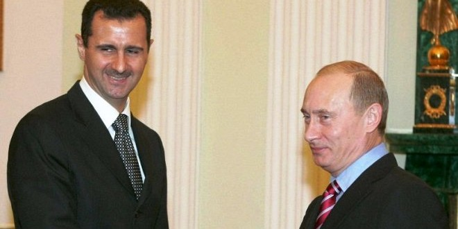 بوتين والأسد