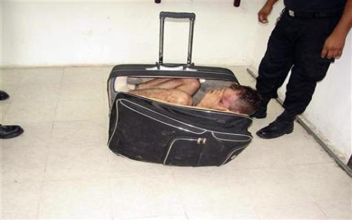 وفاة مغربي اختبأ في حقيبة سفر بإسبانيا!