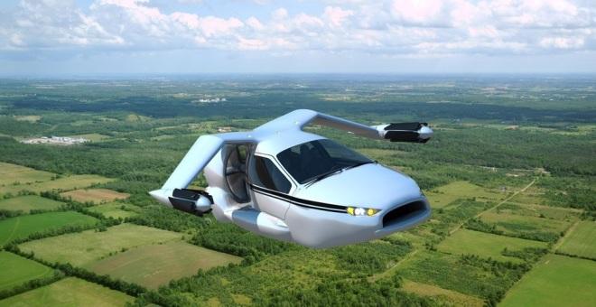 بالصور.. السيارة الطائرة حلم يقترب من الحقيقة