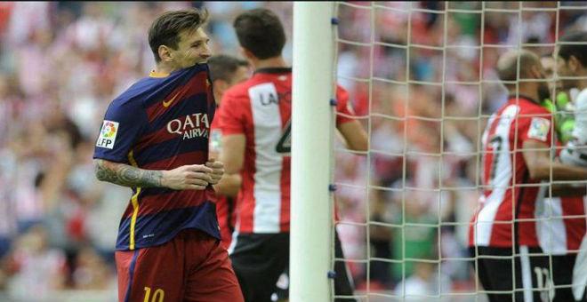 فريق برشلونة ينتقم من بيلباو بفوز صعب