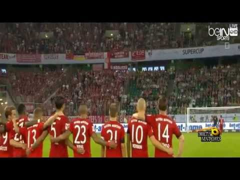 نهائي : بايرن ميونخ وفولفسبورغ 1-1 (4-5)
