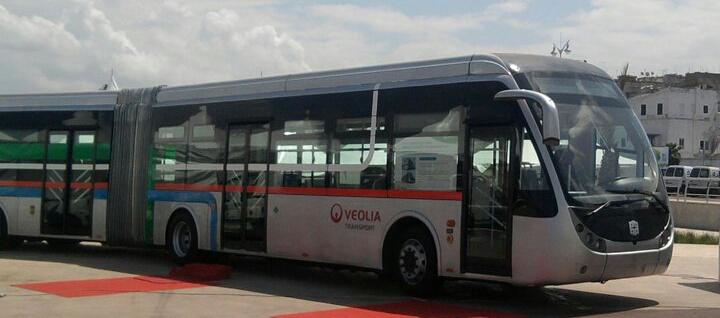 حافلات بقيمة 7 مليارات عرضة للصدأ بميناء البيضاء !!