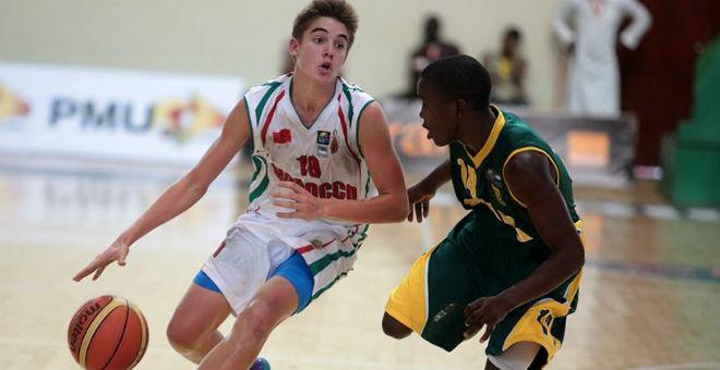 لاعب مغربي ضمن أفصل ثلاثة لاعبين في بطولة إفريقيا لكرة السلة