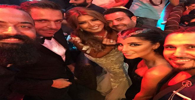 بالفيديو...حفل زفاف الفنانة الجزائرية أمل بشوشة