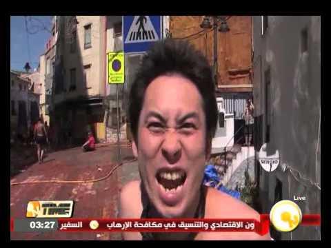 لاعبو النجم الساحلي التونسي يغنون